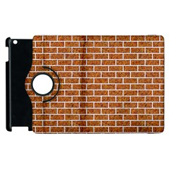 Brick1 White Marble & Rusted Metal Apple Ipad 2 Flip 360 Case by trendistuff
