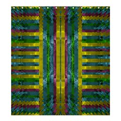 Summer Night After The Rain Decorative Shower Curtain 66  X 72  (large)  by pepitasart