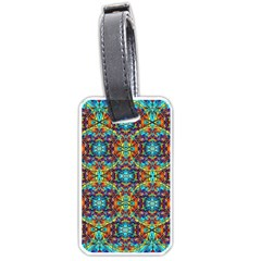 Pattern 16 Luggage Tags (one Side)