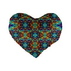 Pattern 16 Standard 16  Premium Heart Shape Cushions