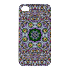 Summer Bloom In Floral Spring Time Apple Iphone 4/4s Hardshell Case by pepitasart