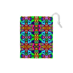 Artwork By Patrick Pattern 18 Drawstring Pouches (small)