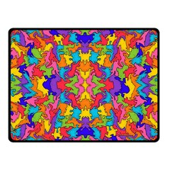 Artwork By Patrick Pattern 19 Fleece Blanket (small)