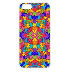 Artwork By Patrick Pattern 19 Apple Iphone 5 Seamless Case (white)