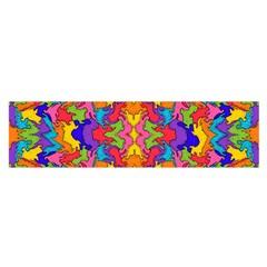 Artwork By Patrick Pattern 19 Satin Scarf (oblong)