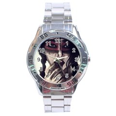 Femininely Badass Stainless Steel Analogue Watch by sirenstore