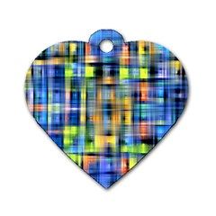 Pattern 20 Dog Tag Heart (two Sides)