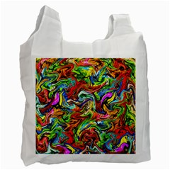 P 867 Recycle Bag (two Side)  by ArtworkByPatrick