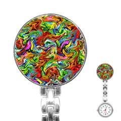 P 867 Stainless Steel Nurses Watch by ArtworkByPatrick