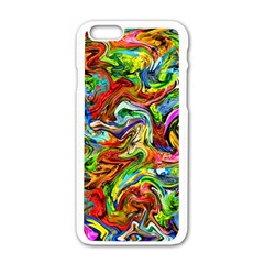 P 867 Apple Iphone 6/6s White Enamel Case by ArtworkByPatrick