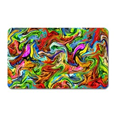 Pattern 21 Magnet (rectangular) by ArtworkByPatrick