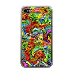 Pattern 21 Apple Iphone 4 Case (clear) by ArtworkByPatrick