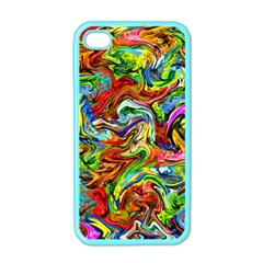 Pattern 21 Apple Iphone 4 Case (color) by ArtworkByPatrick