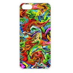 Pattern 21 Apple Iphone 5 Seamless Case (white) by ArtworkByPatrick