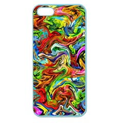 Pattern 21 Apple Seamless Iphone 5 Case (color) by ArtworkByPatrick