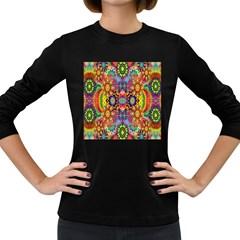 Artwork By Patrick Pattern 22 Women s Long Sleeve Dark T Shirts
