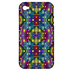 Artwork By Patrick Pattern 23 Apple Iphone 4/4s Hardshell Case (pc+silicone)