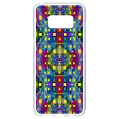 Artwork By Patrick Pattern 23 Samsung Galaxy S8 White Seamless Case