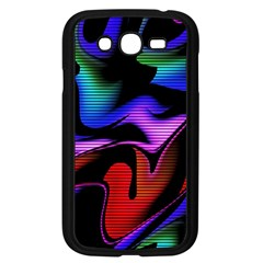 Hot Abstraction With Lines 2 Samsung Galaxy Grand Duos I9082 Case (black) by MoreColorsinLife