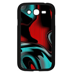Hot Abstraction With Lines 3 Samsung Galaxy Grand Duos I9082 Case (black) by MoreColorsinLife