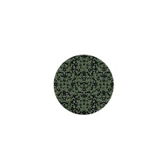 Camouflage Ornate Pattern 1  Mini Buttons by dflcprints