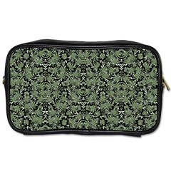 Camouflage Ornate Pattern Toiletries Bags 2 Side by dflcprints