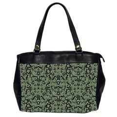 Camouflage Ornate Pattern Office Handbags (2 Sides)  by dflcprints