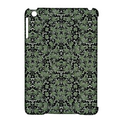 Camouflage Ornate Pattern Apple Ipad Mini Hardshell Case (compatible With Smart Cover) by dflcprints