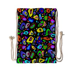 Artwork By Patrick Pattern 30 Drawstring Bag (small)