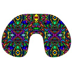 Artwork By Patrick Pattern 31 Travel Neck Pillows