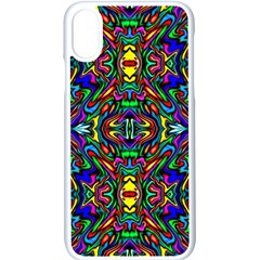 Artwork By Patrick Pattern 31 Apple Iphone X Seamless Case (white) by ArtworkByPatrick