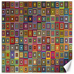 Artwork By Patrick Pattern 33 Canvas 16  X 16