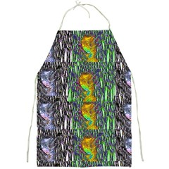 May Be A Woman In Manga Fire Full Print Aprons by pepitasart
