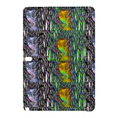 May Be A Woman In Manga Fire Samsung Galaxy Tab Pro 10 1 Hardshell Case by pepitasart