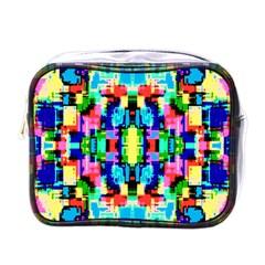 Artwork By Patrick  Colorful 1 Mini Toiletries Bags by ArtworkByPatrick