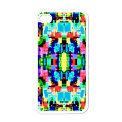 Artwork By Patrick  Colorful 1 Apple Iphone 4 Case (white)