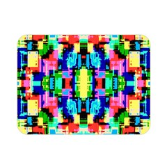 Artwork By Patrick  Colorful 1 Double Sided Flano Blanket (mini)