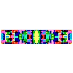 Artwork By Patrick  Colorful 1 Small Flano Scarf