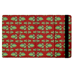 Tropical Stylized Floral Pattern Apple Ipad Pro 9 7   Flip Case by dflcprints