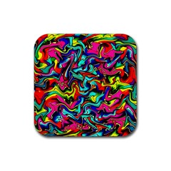 Pattern 34 Rubber Coaster (square)  by ArtworkByPatrick