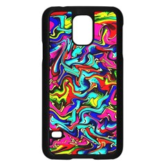 Pattern 34 Samsung Galaxy S5 Case (black)