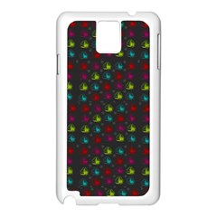 Roses Raining For Love  In Pop Art Samsung Galaxy Note 3 N9005 Case (white) by pepitasart