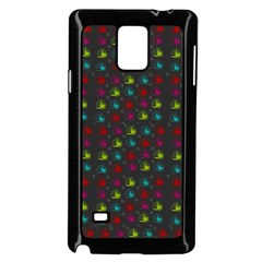 Roses Raining For Love  In Pop Art Samsung Galaxy Note 4 Case (black) by pepitasart