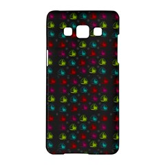 Roses Raining For Love  In Pop Art Samsung Galaxy A5 Hardshell Case  by pepitasart