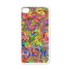 Colorful 2 Apple Iphone 4 Case (white)