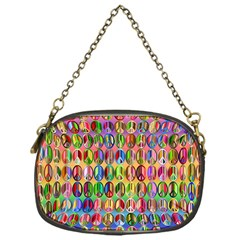 Peace Sign Chain Purses (one Side)