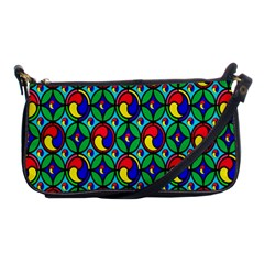 Colorful 4 Shoulder Clutch Bags by ArtworkByPatrick