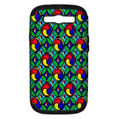 Colorful 4 Samsung Galaxy S Iii Hardshell Case (pc+silicone)