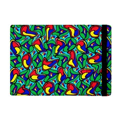 Colorful 4 1 Apple Ipad Mini Flip Case by ArtworkByPatrick