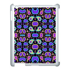 Colorful 5 Apple Ipad 3/4 Case (white) by ArtworkByPatrick